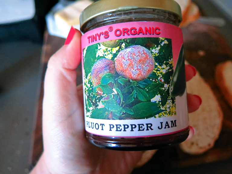 jam pluot pepper