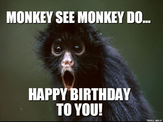 Items similar to Personalized Monkey Birthday T Shirt or Bodysuit ...