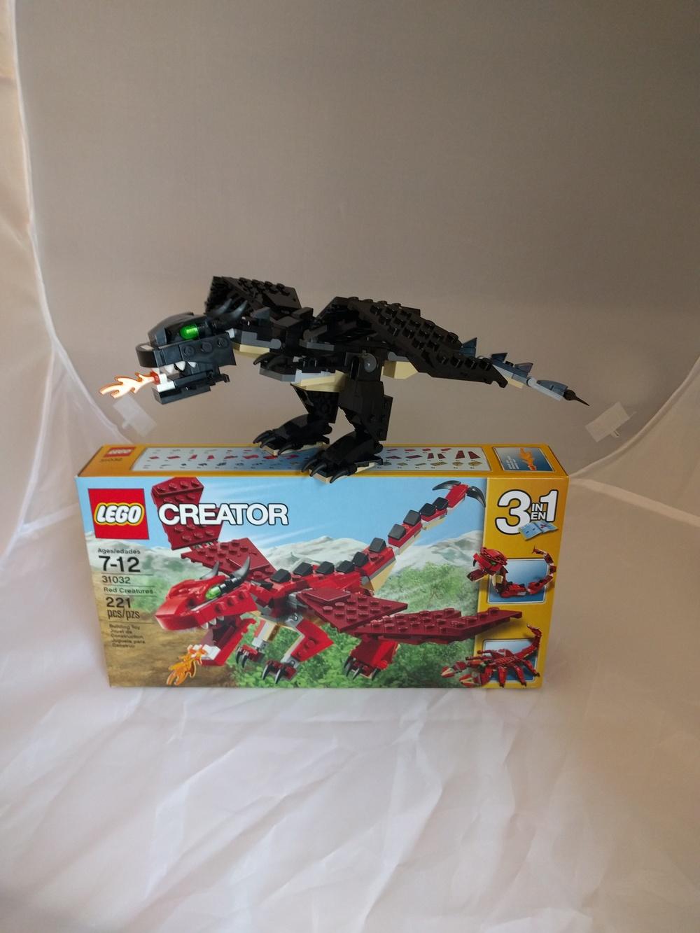 LEGO 31032 black MOC