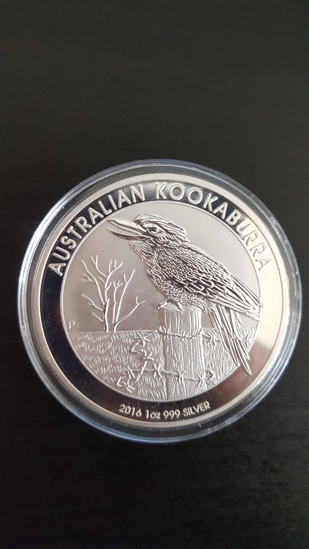 fake silver 2016 kookaburra 1