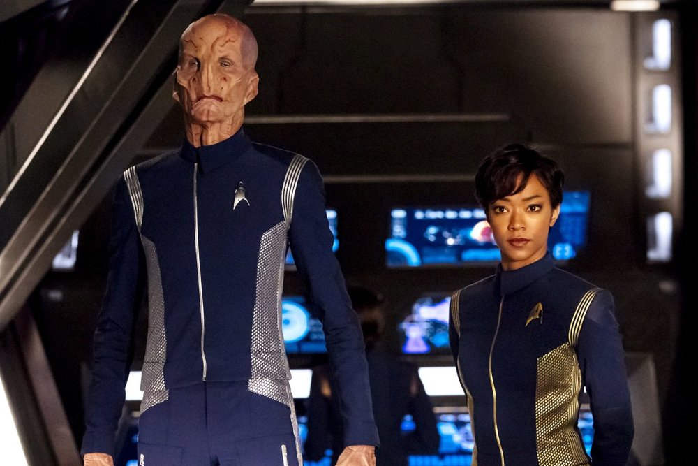 Star Trek Discovery The Orville alien