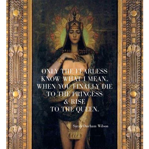 """From Sarah's Poem, """"Inanna."""""""