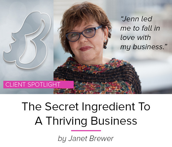 After 40 years as a solo-preneur, Janet was tired of the feast or famine lifestyle. This story reveals how discovering her unique value with Jenn Morgan helped her rekindle her passion to grow her business and create a consistent flow of clients for three years. Read the story here.