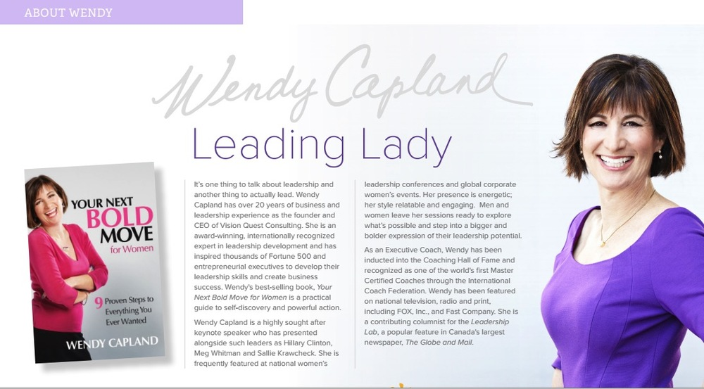 Promotional PDF for Wendy Capland, page 3