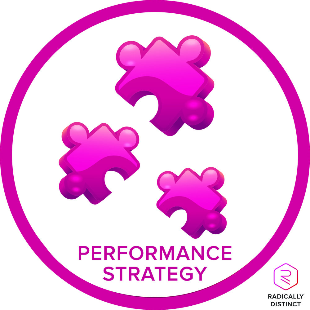How To Create A Performance Strategy - A performance strategy is a methodical approach for how to incrementally improve your skills at executing a plan. It's built off an assessment and is uber important when it comes to keeping yourself engaged in your program. Listen in to this episode of Radically Distinct Radio to learn how to create a performance strategy to achieve your goals.