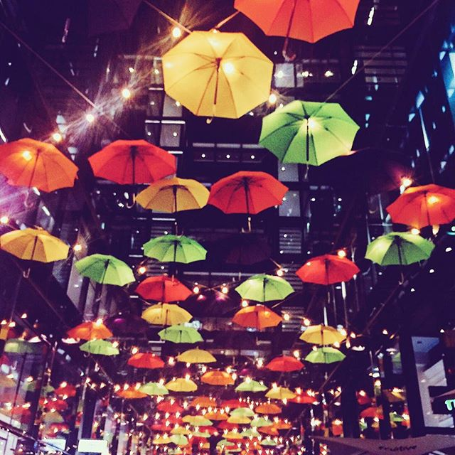 Thanks @citycenterdc for the assist with these endless days of rain! This may be my favorite installation yet 🌂💕 . . . #downtown #washington #washingtondc #districtofcolumbia #rain #installation #citycenter #passionpassport #openmyworld #goplayoutside #exploremore #wonderful_places #lonelyplanet #travel #mytinyatlas #bcctravel #traveltips #travel #explore #traveltuesday #instagood #lovethisplace #igers #igtravel #ig_captures #art #umbrella #travelphotography #travelblogger #expatlife