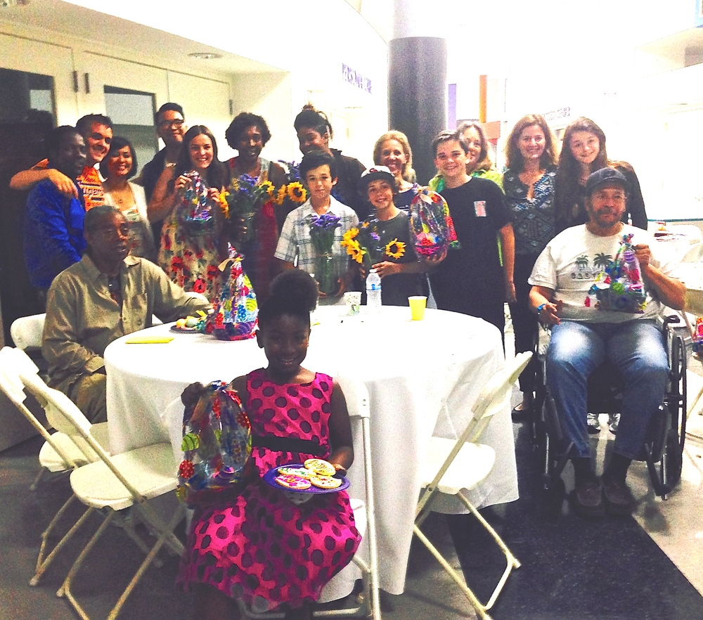 Thanks to AVA, LemonAID Warriors were able to feed 60 residents at our Easter Brunch at PATH homeless shelter.