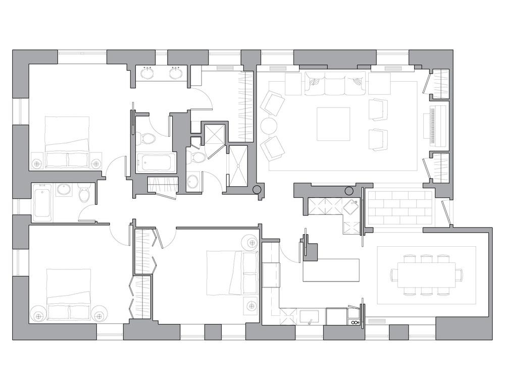 Floor Plan -- After
