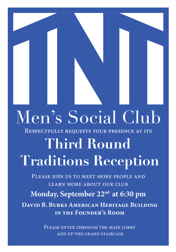 An invitation to the Third Round Mixer.