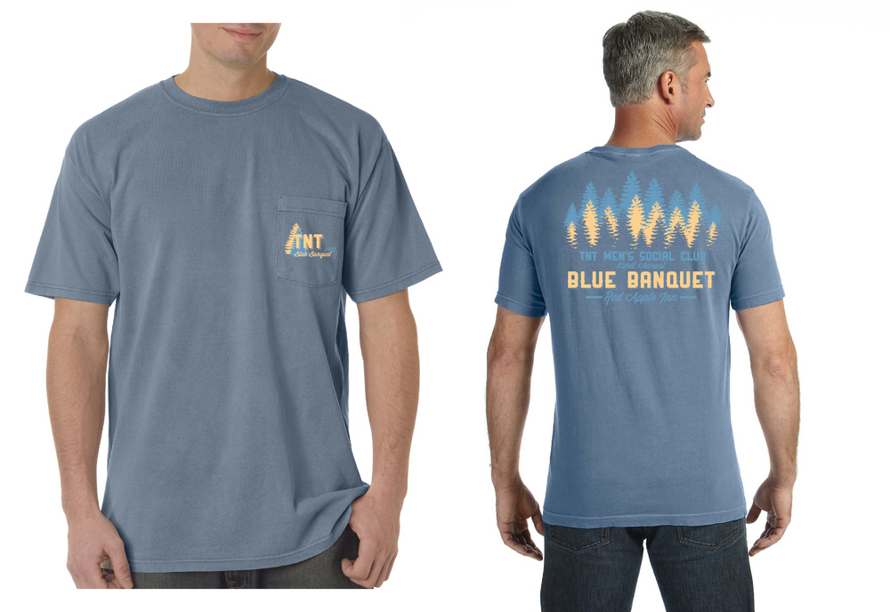 A t-shirt for the 2015 Blue Banquet