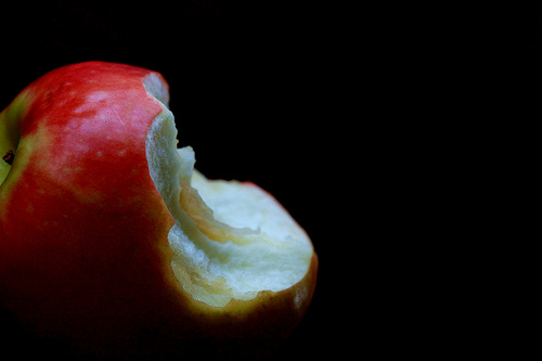apple-eaten