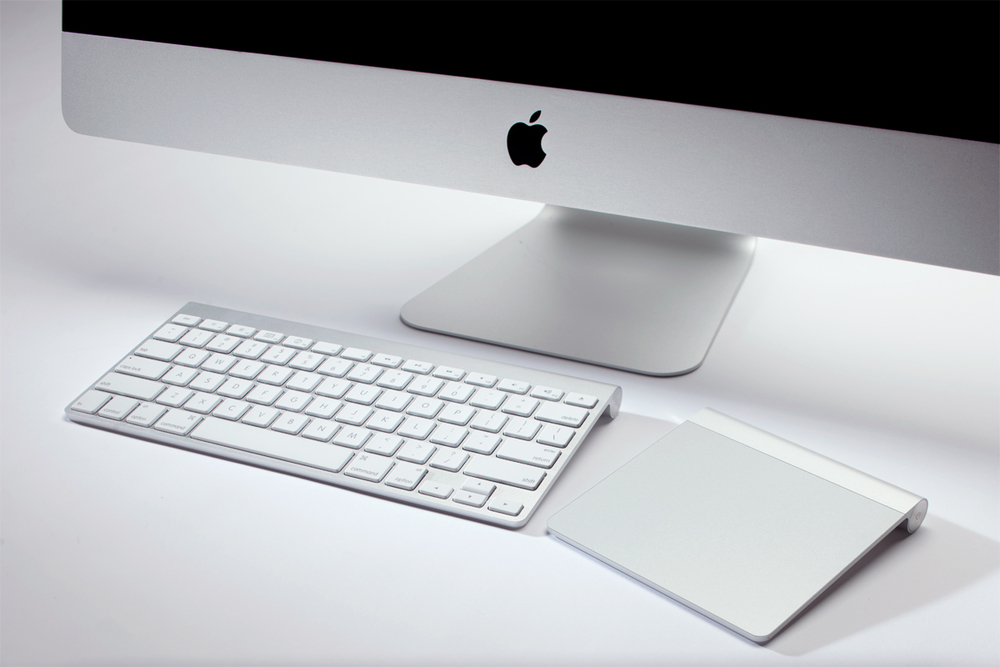 bluetooth keyboard and trackpad