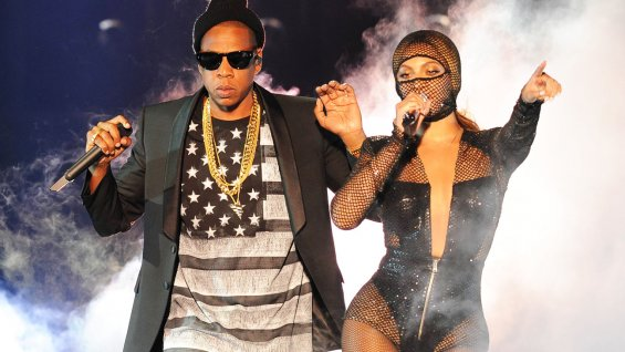 "Erotica, glamour, swagger, street cred, and finally, a peek at marriage and family bliss all came together during Beyonce and Jay Z's ""On the Run"" tour, which opened in Miami's Sun Life Stadium last night (June 25). It was over two hours of tightly choreographed showmanship that was timed to the second, alternating between the pair's solo history, their collaborative hits and by duet versions of hits both have originally recorded with others. Jay Z & Beyonce ""On The Run"": Opening Night in Miami Photos   The sheer volume of material, coupled with the cinematic theme (more on that later) and Beyoncé's jaw-dropping wardrobe changes made for a highly entertaining and impressive show that went from the glamorous to the profane.   Jay Z & Beyonce's ""RUN"" Fashion: Stylist Rob Zangardi on Dressing Music's Hottest Couple But it was also a rather detached show. Yes, there was more than enough of Mr. and Mrs. Carter to satisfy the crowd here; those on the floor level, at least, never sat down and sang or rapped along to every single song, not missing even a beat of Jay's raps. And these two enjoy the privilege of being some of the few acts that seem to appeal equally to male and female fans. But despite the obvious adulation, the lines between performers and audience were very sharply delineated and both Jay and Beyoncé's were careful to adhere to script and procedure every step of the way. If there was no room for error, there wasn't room either for spontaneity or audience interaction in this very finely tuned performance where one song bled seamlessly into the other, with brief musical interludes or snippets of film serving as transitions. The idea was to create an atmosphere and tell a story.   ""On The Run,"" the tour, is inspired on the theme and aesthetic seen on the tour ""film"" trailer (with cameos by the likes of Sean Penn), which features the Carters in ""Bonnie and Clyde"" mode, firing semi automatics (although last night little signs of ""not real guns"" appeared constantly on screen) and executing multi-million dollar heists with attitude and high fashion sense. The live show follows the same storyline of the couple on the run, kicking off with black and white scenes from the film, playing in a gigantic center screen flanked by two other giant screens that allowed the audience in the humongous Sun Life Center to view Jay and Beyonce up close and personal throughout.   Jay Z & Beyonce at Sun Life Stadium Not surprisingly, given the film theme, the opening track was ""03 Bonnie and Clyde."" But don't expect that more down and dirty feel of the original 2002 Jay-Z video featuring Beyonce.  Everything about ""On the Run"" is amped up and glammed up, beginning with Beyonce, who looked fabulous in a mesh leotard with a mesh hoodie over her face, and backed by a jaw-dropping eight-dancer troupe.""03 Bonnie and Clyde"" then cleverly segued into ""Crazy In Love"" (originally by Beyoncé feat. Jay Z from the same time period). Then, the subtlest of interludes sung by Beyoncé served to cede the stage to Jay Z with ""Tom Ford.""   Alternating in the sparse, almost industrial-looking stage, Beyoncé and Jay-Z proceeded to take us on a journey of fashion, high-level performance and music, always returning to the central theme of love—challenged, perhaps, but finally standing strong. And it was all about the Carters. There were no guest acts and no visible band, save for a rare appearance here or there from an instrument or back-up singer. Jay-Z managed to power through his arsenal of hits—from ""Ni**as in Paris"" to ""Clique"" to ""99 Problems"" and ""It's a Hard Knock Life""--forcefully and alone, without any props except the screen behind him. Beyoncé, meanwhile, made every one of her songs a visual experience, each featuring new outfits (what an impressive array of leotards and catsuits that woman has!) and choreography.   The high points, unsurprisingly, were the duets, particularly ""Holy Grail"" and the ending ""Young Forever,"" and songs like ""Haunted,"" where Beyoncé allowed herself to be alone onstage, truly showcasing not only her vocal prowess but her ability to connect as a singer and not just as a striking personality. There were also stabs at feminism and female empowering messages, including brand new""Pretty Hurts,"" which deals with society's demands on the way women look and what women are willing to do to achieve those demands. But, given the way Beyoncé looks and her status as a sex symbol, this is a difficult message to get across in this particular setting.  It all built up to a grand finale which, surprisingly wasn't all about guns and death as with the original Bonnie and Clyde, but love and family. ""We celebrate love tonight,"" said Jay-Z as he embraced his wife onstage, squashing any of the tabloid notions of break-up that have circulated lately. Then, the couple sang the rousing ""Young Forever"" before turning their backs to the audience to sing at the screen, which showed images of family life centering on the newest addition, daughter ""Blue Ivy,"" who they serenaded with ""Halo."" Clearly the idea was to show the real Mr. and Mrs. Carter. But of course, we know that they aren't like you or me.  Complete Set List ""'03 Bonnie & Clyde"" ""Show Me What You Got"" ""Upgrade U"" ""Crazy in Love"" ""Show Me What You Got"" ""Diamonds are Forever"" ""N***as"" in Paris"" ""Tom Ford"" ""Run the World"" ""***Flawless"" ""Yonce"" ""Jigga That N***a"" ""Dirt Off Your Shoulder"" ""Big Pimpin'"" ""Ring the Alarm"" ""On to the Next One"" ""Clique"" ""Diva"" ""Baby Boy"" ""U Don't Know"" ""Ghost""/""Haunted"" ""No Church in the Wild"" ""Drunk in Love"" ""Public Service Announcement"" ""Why Don't You Love Me"" ""Holy Grail"" ""Fuckwithmeyouknowigotit"" ""Beach Is Better"" ""Partition"" ""99 Problems"" ""If I Were a Boy"" ""Ex Factor"" (Lauryn Hill cover) ""Song Cry"" ""Resentment"" ""Love on Top"" ""Izzo (H.O.V.A.) ""I Just Wanna Love U (Give it 2 Me)"" ""Single Ladies"" ""Hard Knock Life"" ""Pretty Hurts"" ""Part II (On the Run)"" ""Forever Young"" ""Halo"" ""Lift Off"""