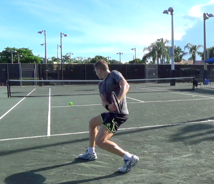 Jon takes advantage of living in Florida by playing tennis every day.