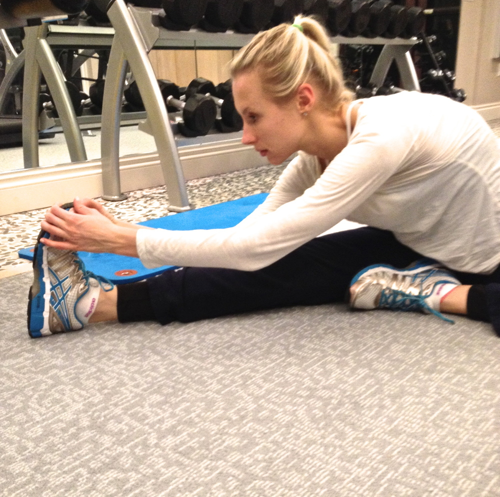 Since I've started stretching more seriously, my body feels better and I'm recovering more quicklyfrom my workouts.