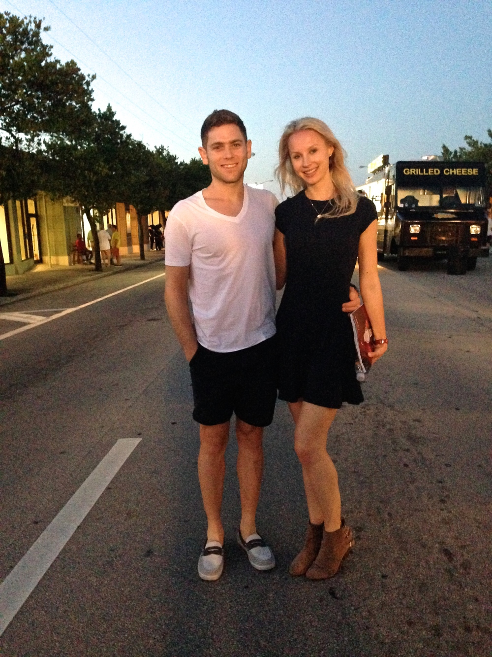 Me and Jon at a West Palm Beach street fair this month.  I'm feeling my best since modifying my workout routine.