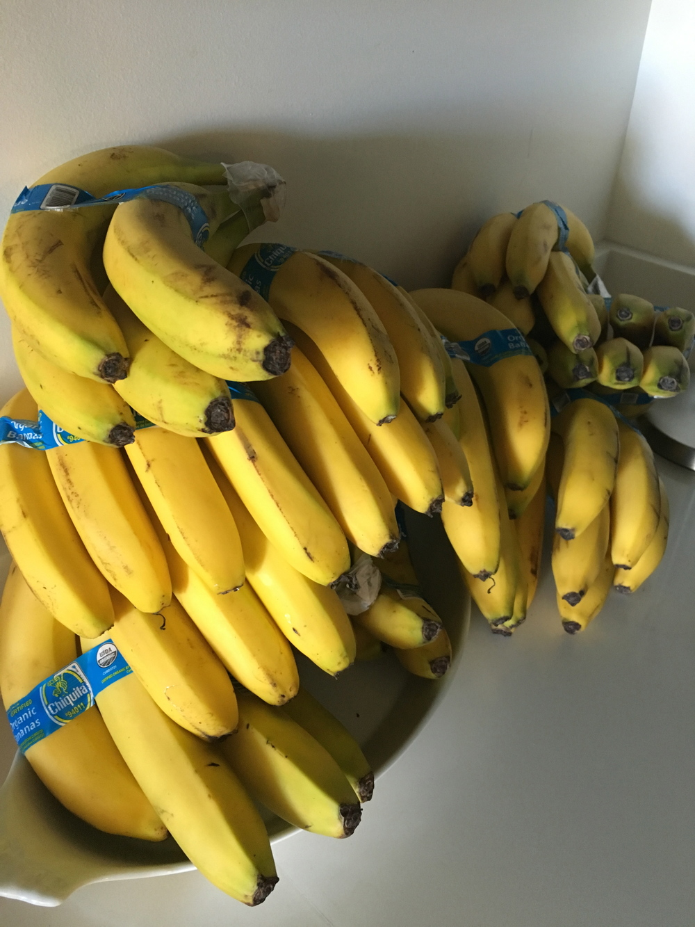 Bananas are a crucial component of the champion breakfast.