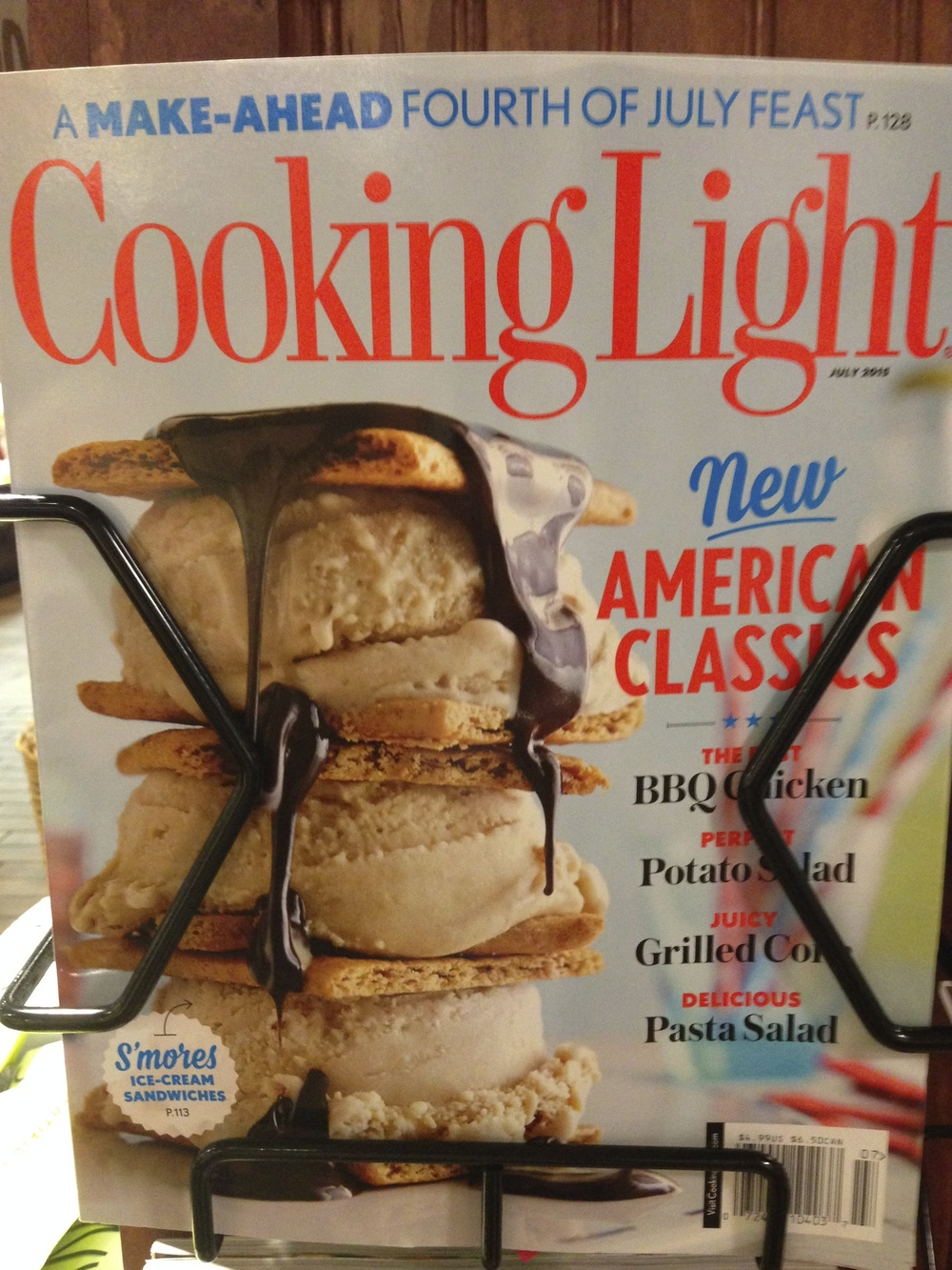 """Cooking light"" should mean eating natural foods -- fruit and nuts as a dessert, for example."