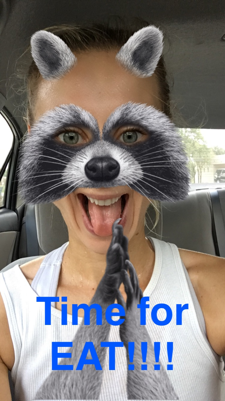 I'm always posting shots of my healthy weekend routines on Snapchat (@Lyudzz).  Start following me!
