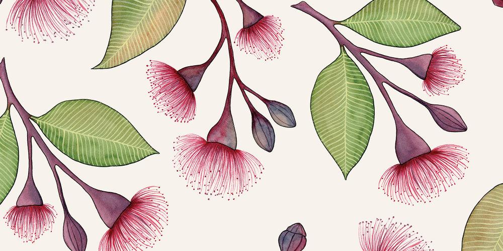 Flowering Gum - MURAL
