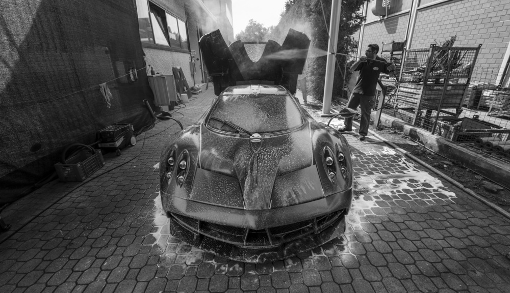 Pagani Huayra. Photo: William Barber