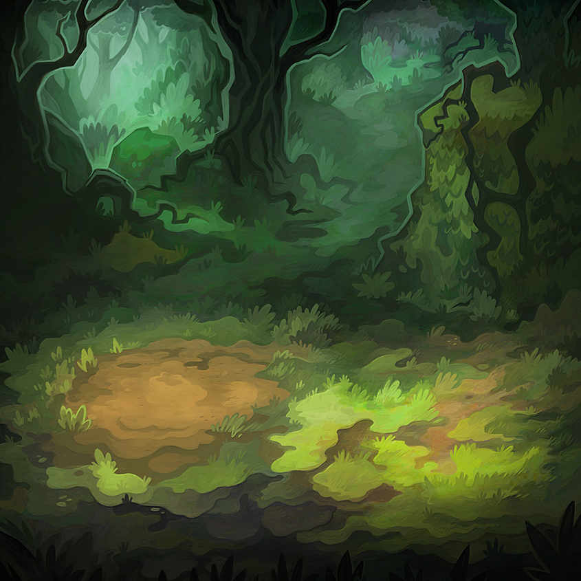 """Background for """"Dungeon Slammers"""" mobile game (c) Uncanny Works"""
