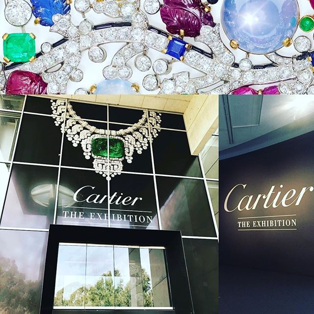 Cartier - The Exhibition has just over a week left at the National Gallery in Canberra! Truly mind blowing creations on display by 'the king of jewellers'. #alexjamesluxury #cartier #cartierexhibition #hautejoaillerie