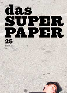 Yoshua Okon, Octopus (detail of video still), 2011, on the cover of Das Superpaper issue 25, Periferico