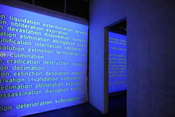Joaquin Segura, Annihilation, 2007. Image courtesy and © the artist. Photo: Ella Condon