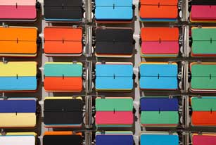 Rebecca Baumann ,  Automated Colourfield ( detail)   2011.       Museum of Contemporary Art, purchased with funds provided by the Coe and Mordant families, 2011. Image courtesy and   © the artist