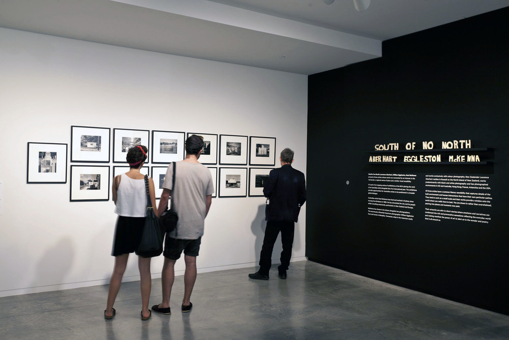 Installation view,  South of no North: Laurence Aberhart, William Eggleston and Noel McKenna,  Museum of Contemporary Art Australia, 2013. Image courtesy and © the artists. Photograph: Alex Davies