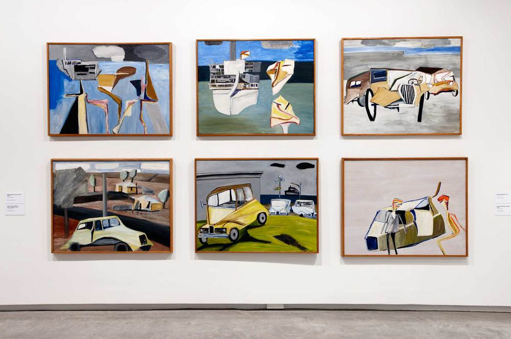 Installation view, Ken Whisson: As If, Museum of Contemporary Art Australia, Sydney, 2012. Image courtesy the artist and Museum of Contemporary Art Australia © the artist