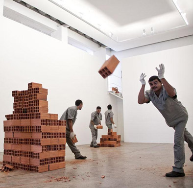 Hector Zamora ,  Material Inconstancy , Galeria Luciana Brito, 30th São Paulo Biennial, 2012
