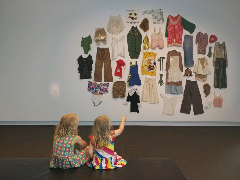 Heidi Lefebvre's installation at UQ Art Museum
