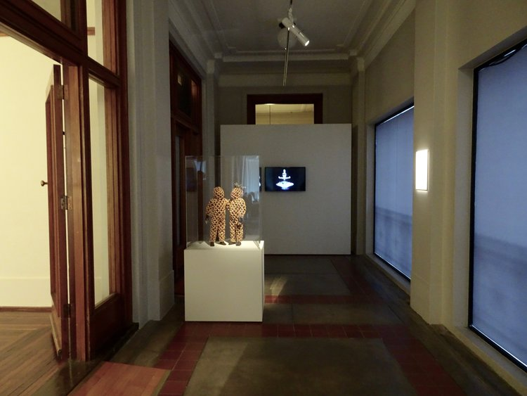 Linde Ivimey's installation view, UQ Art Museum