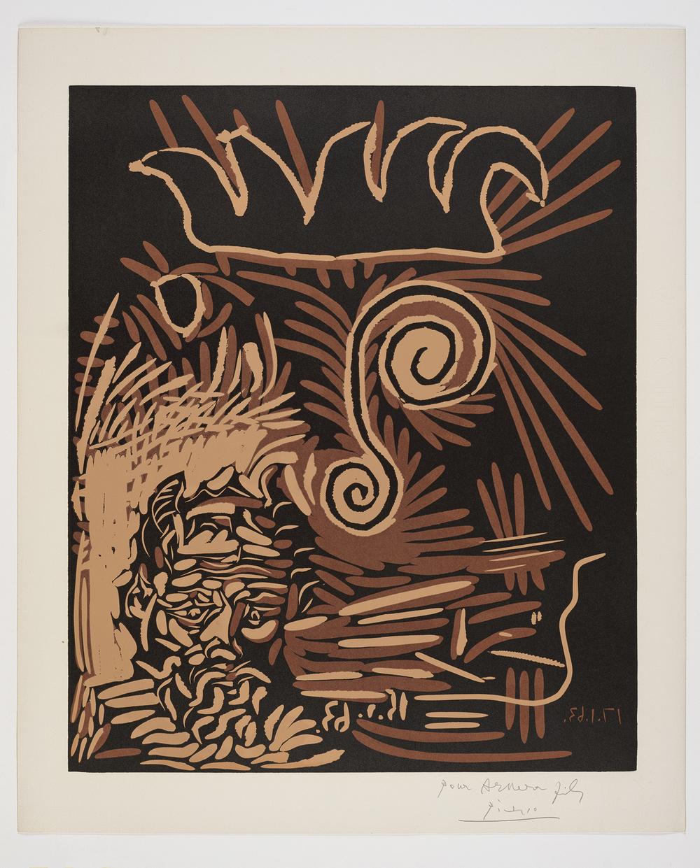 F 13717 - Picasso 'Faune et vieux Roi - Le vieux Bouffon'.jpg
