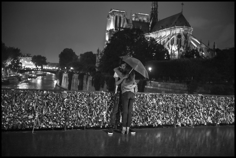 Behind Notre Dame Cathedral     2012