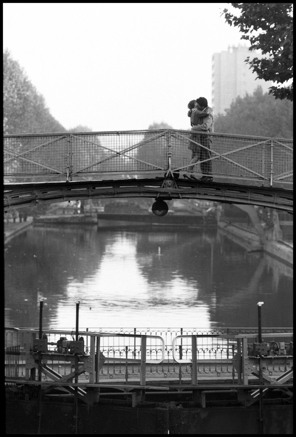 Canal Saint-Martin, Paris    1984