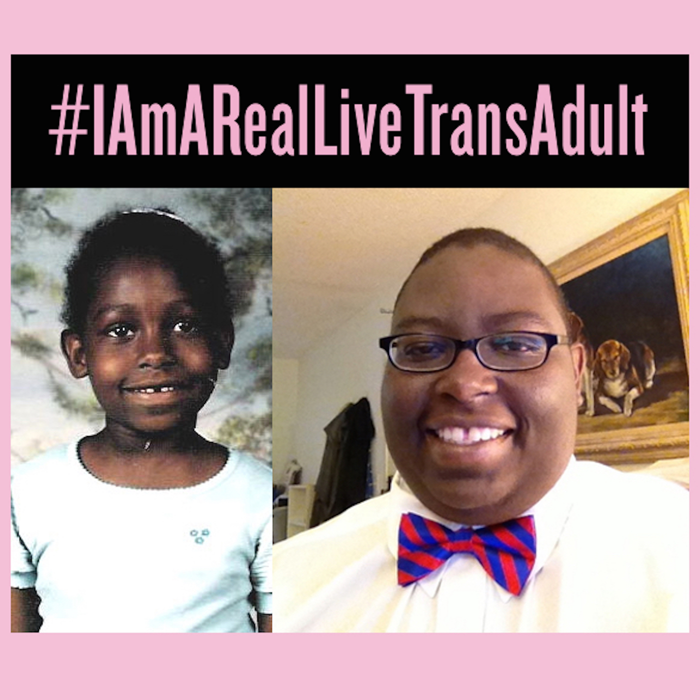 I Am A Real Live Trans Adult - #QueerAsPinkInk