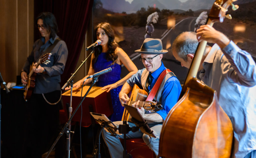 ……This month's featured act is the acclaimed sextet The Hot Club of Las Vegas, whose trademark gypsy jazz — a combination of swing, flamenco and musette — will have you humming and scatting along. Amid the NoMad Bar's plush Parisian-inspired interiors, there's no better way to end (or start) the week….   Photo by Patrick Gray.   By Genevie Durano     https://luxurylv.com/sip-savor/all-that-jazz-and-pancakes-too/
