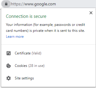 """Ensure that your site is HTTPS """"Secure"""" - You want your website to have a small lock display to the left of the URL, with the URL starting with """"HTTPS"""" (instead of just """"HTTP""""). This helps give both website visitors and web browsers confidence that your website is legitimate, while also helping your SEO / preventing false website blocking.There are different services to help you acquire a valid SSL certificate, which is what is needed for web browsers to display this."""