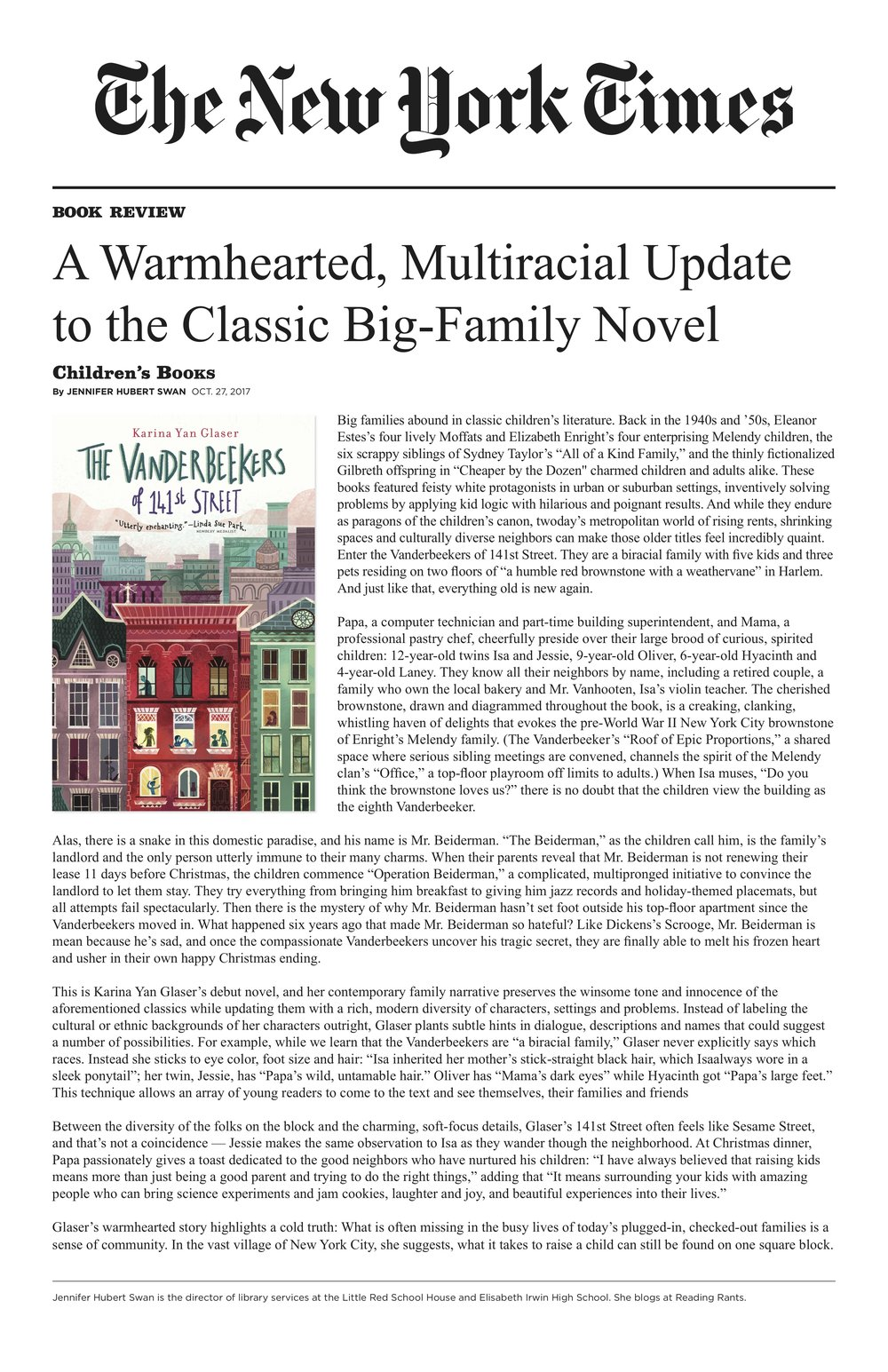 NYT Book Review - The Vanderbeekers of 141st Street.jpg