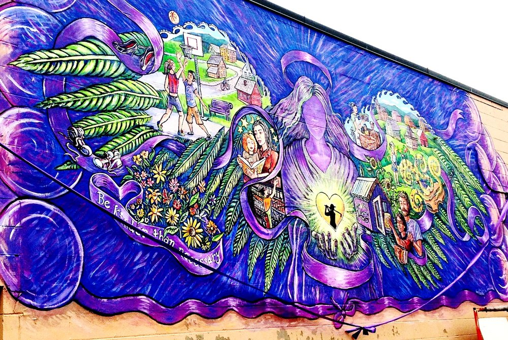 Purple Angel, Rutland VT 2015