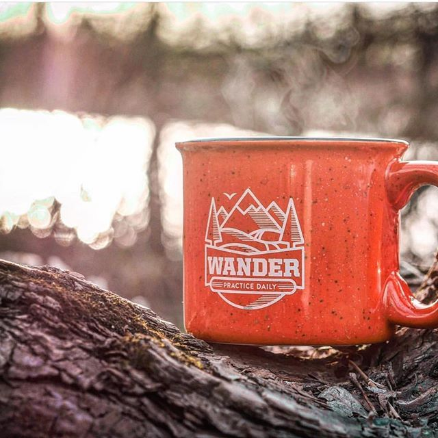 Dude, it's totally steamy mug weather. ☕️🍂 . . . . 📸: @dyanapyehchek  #wander #practicedaily #coffee #coffeetime #coffeebreak #coffeeholic #coffeeadict #coffeeeee #fall #fallfeeling #autumn #woods #outdoors #mug