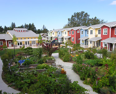 cohousing in sebastopol, ca: image - schemata workshop