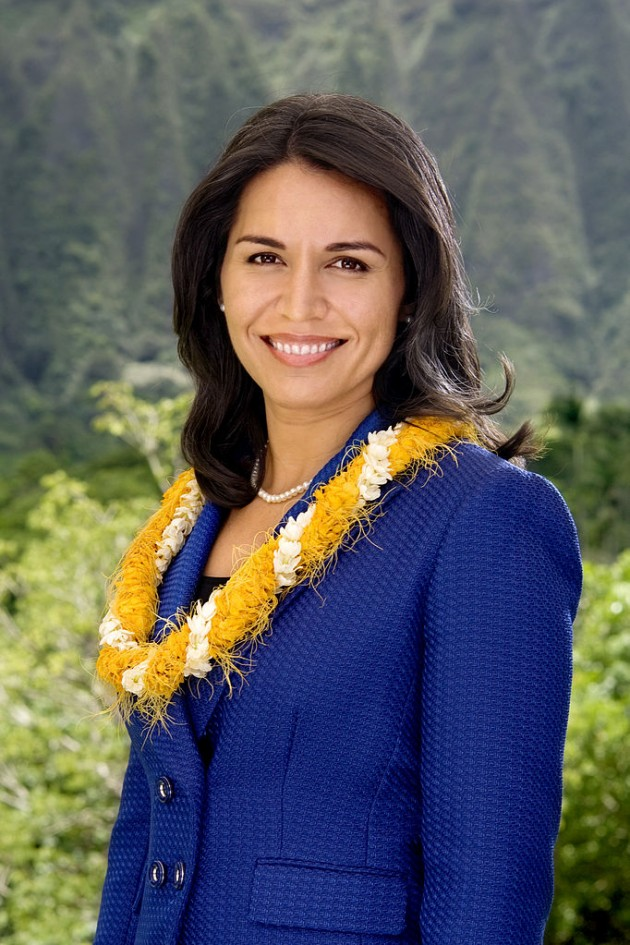 Source: Office of Congresswoman Tulsi Gabbard (D-HI)