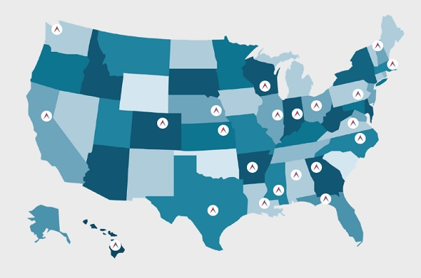 The states with symbols indicate the existence of a millennial caucus. (Source: Millennial Action Project)