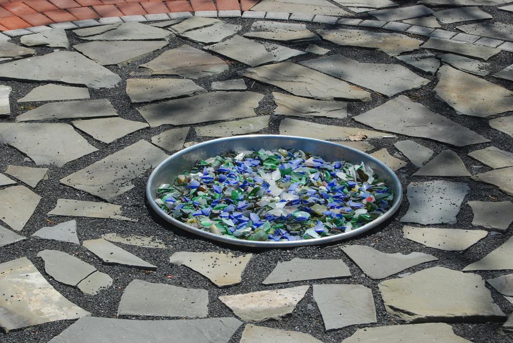 Tumbled Glass Bowl
