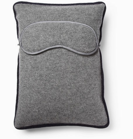 Armand Disordoairn Cashmere Travel Pillow and Eye Mask