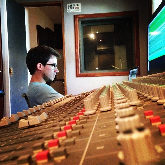 Mixing Session at Momotombo Productions - 2014 - Nicaragua